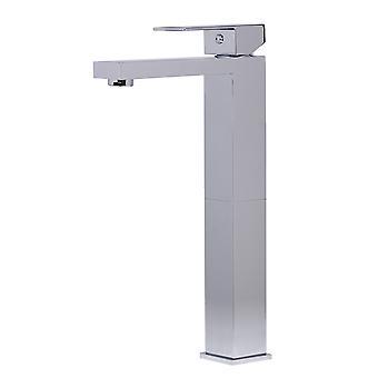Alfi Brand Ab1129-Pc Polished Chrome Tall Square Single Lever Bathroom Faucet