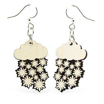 Snow Cloud Blossom Earrings # 150