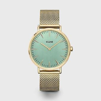 Cluse Ladies La Behème Gold Circle Quartz Fashion Watch CW0101201027