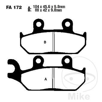 EBC TT - Carbon Brake Pads (FA172TT)