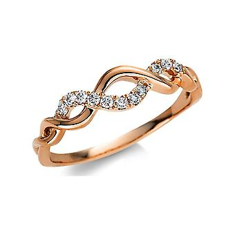 Luna Creation Promessa Ring Multiple Stone Trim 1U446R854-2 - Ring Width: 54