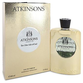 The Other Side Of Oud Eau De Parfum Spray (Unisex) By Atkinsons 3.3 oz Eau De Parfum Spray