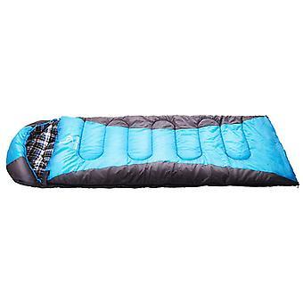 Winter Outdoor Sleeping Bag Soft 190T Pongee Hollow Fiber Cotton Waterproof Sleeping Bag