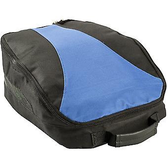 Chaussure de Golf IZZO et sac de rangement accessoires - noir/bleu