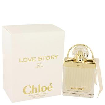 Chloe Love Story Eau De Parfum Spray By Chloe 1.7 oz Eau De Parfum Spray