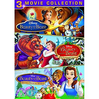 Beauty and the Beast / Belle's Magical World / Enchanted Xmas (Triple pack)