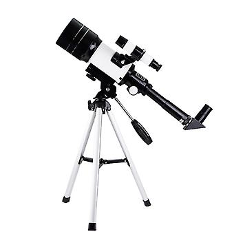 70Mm 300mm astronomical telescope monocular professional outdoor travel spotting scope with tripod for kids& beginners gift