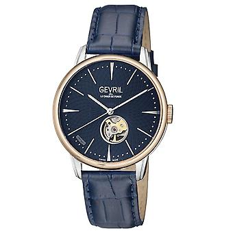 Gevril Mulberry Automatic Blue Dial Men's Watch 9605