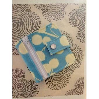 Jenna Lou Designer Couture Modèle 0103 Pocket Pal Wallet Accessoires Uncut