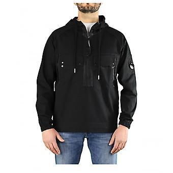 C.p. Empresa Heavy Jersey Black Hoodie