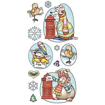 Jeje Marij Rahder Clear Stamps Winter Animals
