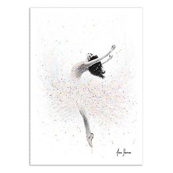 Art-Poster - Snow lake ballerina - Ashvin Harrison