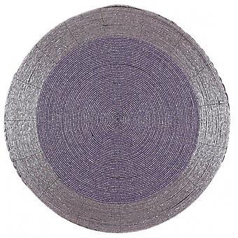 platzdeckchen 36 cm hellviolett