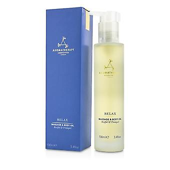 Aromatherapy Associates Relax - Massage & Body Oil 100ml/3.4oz
