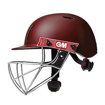 Gunn & Moore GM Cricket Purist Geo II Helmet Sports Head Protection - Maroon