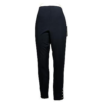 Nina Leonard Leggings High-Tech Stretch Crepe Black 685910