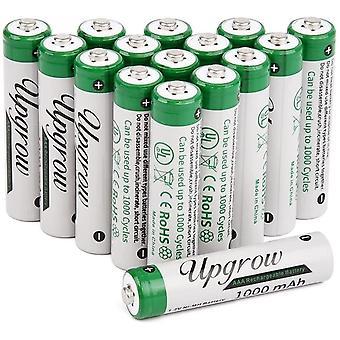 FengChun 16x AAA Akkus Aufladbare NI-MH Akkus AAA Batterien 1000mAh Mit Batterie Aufbewahrungsbox