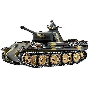 Taigen hånd malet RC Tank - Metal Upgrade - Panther G - 360 tårn