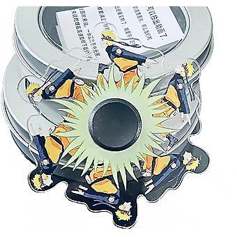 Naruto Fidget Spinners Stress Relief Toys for Kids Dynamic spinning top finger top Naruto Sasuke Juraya Alien Space Blue ManA