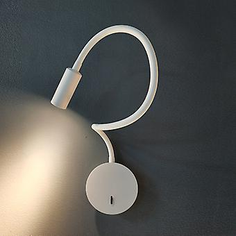 3W Wall Lamp Reading Lamp  Simple Creative Retractable Wall Lamp (white,without Plug)