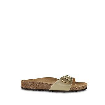 Birkenstock - Schuhe - Flip Flops - MADRID-1016106-GOLD - Damen - Gold - EU 36