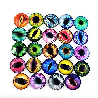 Lasi nuket silmät diy käsityöt silmämunat dinosaurus eläinten aika helmi tarvikkeet