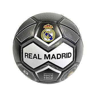 Real Madrid Crest 26 Panel Ball Size 5 Black