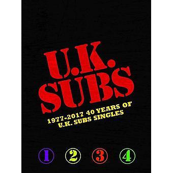 UK Subs - U.K. Subs 1977-2017 40 Años de U.K. Subs Singles Vinilo
