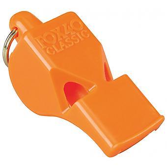 Fox 40 Classic Safety Whistle C/W Wrist-Lanyard Orange