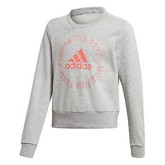 Children's Sweatshirt Adidas G BOLD CREW 0070 Grey