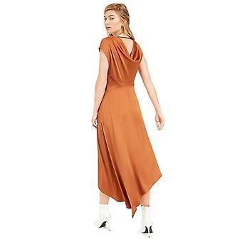 Bar III Damen Becca Tilley x Taschentuch Hem Kleid