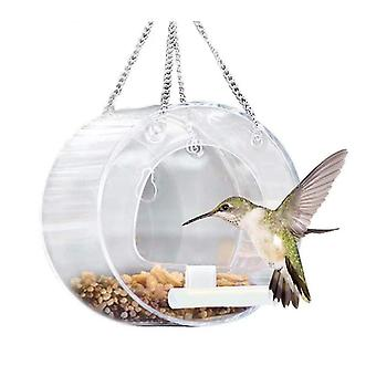 Hengende utendørs fuglefôringsboks