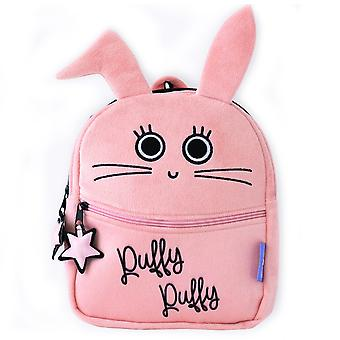 Milk&Moo Chancin Toddler Backpack, Mini, Lightweight, Comfortable Fit, Kids Backpack, Kindergarten, Pre School, Toddler Backpack for Girls, Pink Color