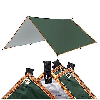 4x3m Awning Waterproof Tarp Tent Shade Ultralight Garden Canopy Sunshade Hammock Sun Shelter