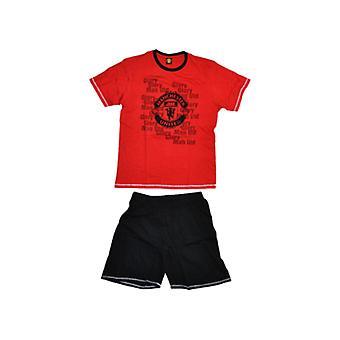 Manchester United FC Gyermek /Kids rövid pizsama szett