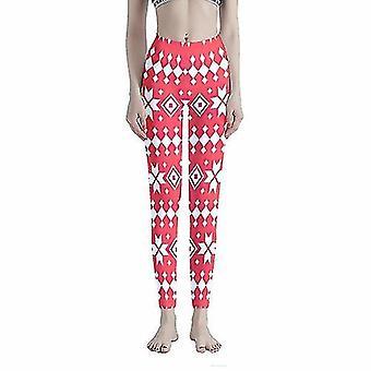 Hosiery christmas ethnic pattern women's workout leggings