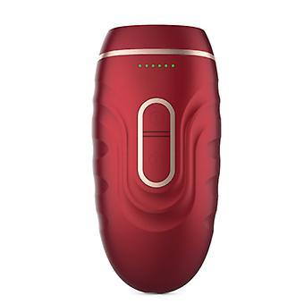 Bezbolesny trwały depilator całego ciała Twarz IPL Depilator Mini Depilator (czerwony)