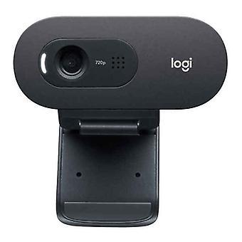 Webcam Logitech C505e HD 720P Black