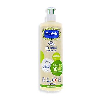 Gel og sjampo Bio Mustela (400 ml)