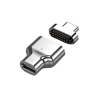 Magnetadapter unterstützt 100W mit USB C 3.1 Gen 1 und 2 für MacBook| Telefonadapter & Konverter