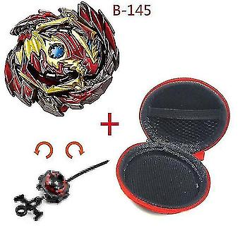 Spinning tops 5 beyblade burst sparking turbo b48 launcher  metal top gyro blade blade spinning fight toys b145