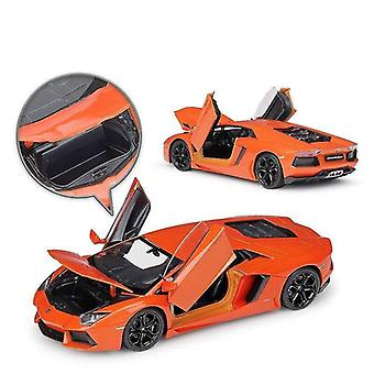 Toy cars 1:24 lamborghini 4 alloy car model die cast toy car collection christmas gift non remote control