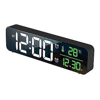 Alarm clocks alarm clocks alarm clock digital alarm clocks bedrooms led small desk clock black