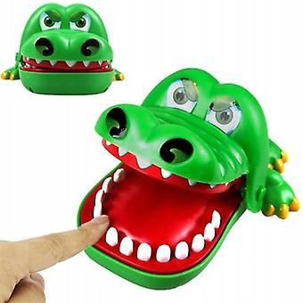 Big Crocodile Bidende Finger Forældre-barn Tricky Legetøj