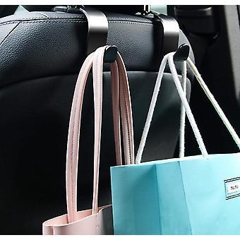 Car Seat Headrest Hook 4 Pack Hanger Storage Organizer