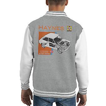 Haynes Owners Workshop Manual 0173 Fiat 127 Kid's Varsity Jacket