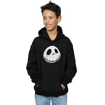 Disney Boys Nightmare Before Christmas Jack Cracked Face Hoodie