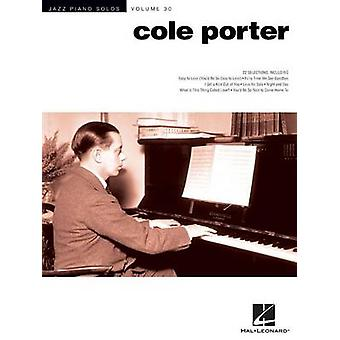 Cole Porter Jazz Piano Solos Vol.30 by By composer Cole Porter