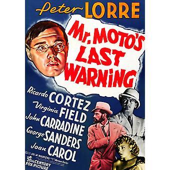 Herr Motos sista varning [DVD] USA import