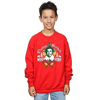 Elf garçons coton dirigé nini Muggins Sweatshirt